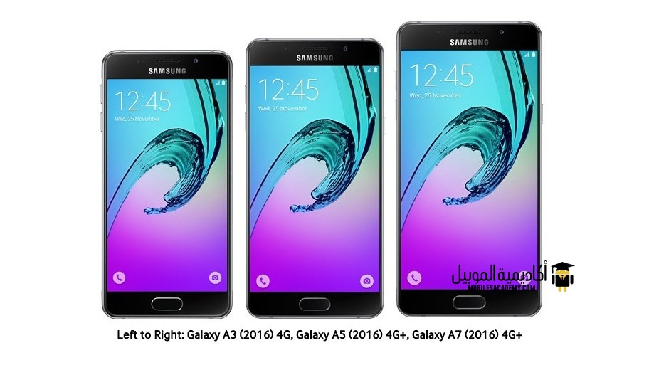 Galaxy A3, A5 and, A7 2016