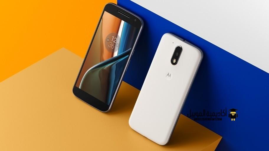 Motorola Moto G4 front and back