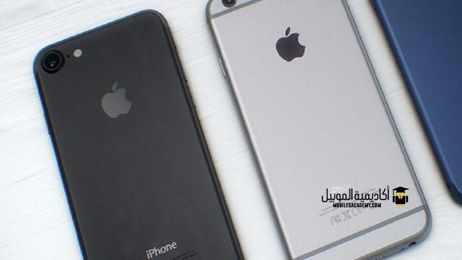 الشكل الخارجي iPhone 7