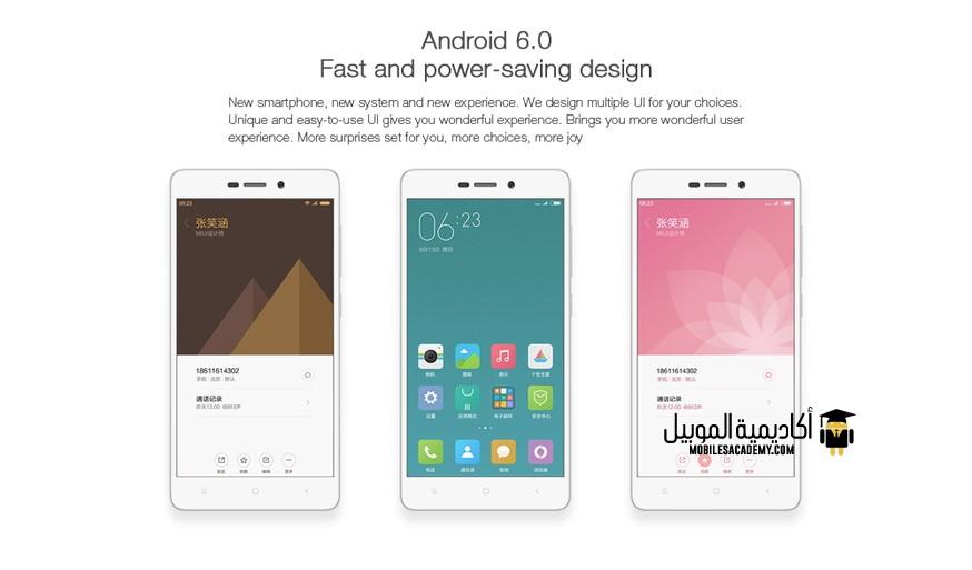 Xiaomi Redmi 3S Android 6
