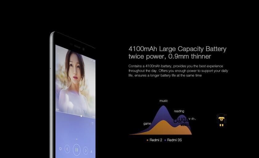 Xiaomi Redmi 3S battery