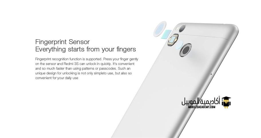 Xiaomi Redmi 3S sensors