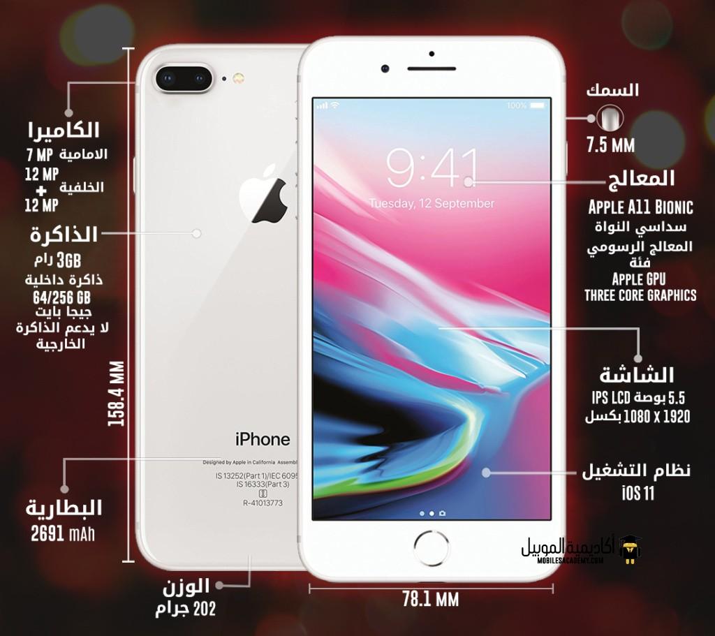 Apple iPhone 8 Plus specification