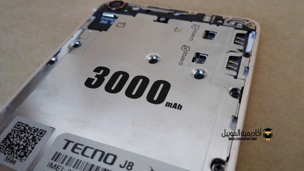 Tecno Boom J8 Battery