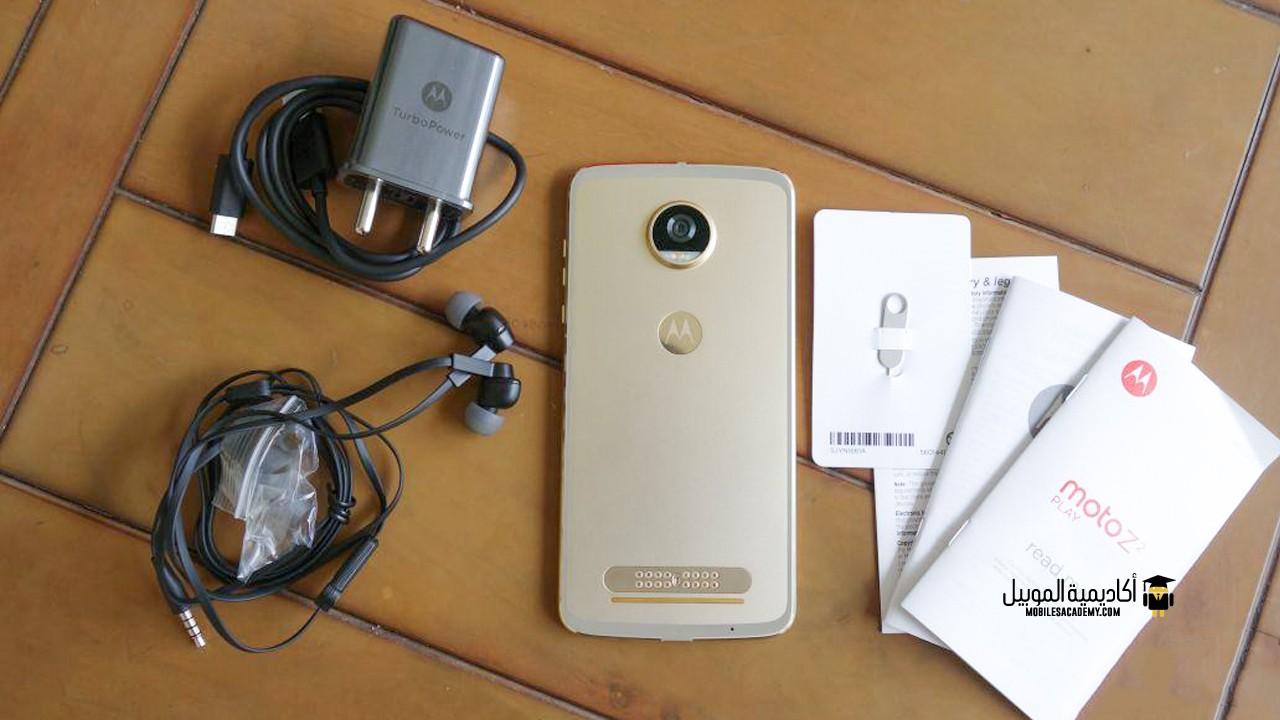 Motorola Moto Z2 Play Unboxing