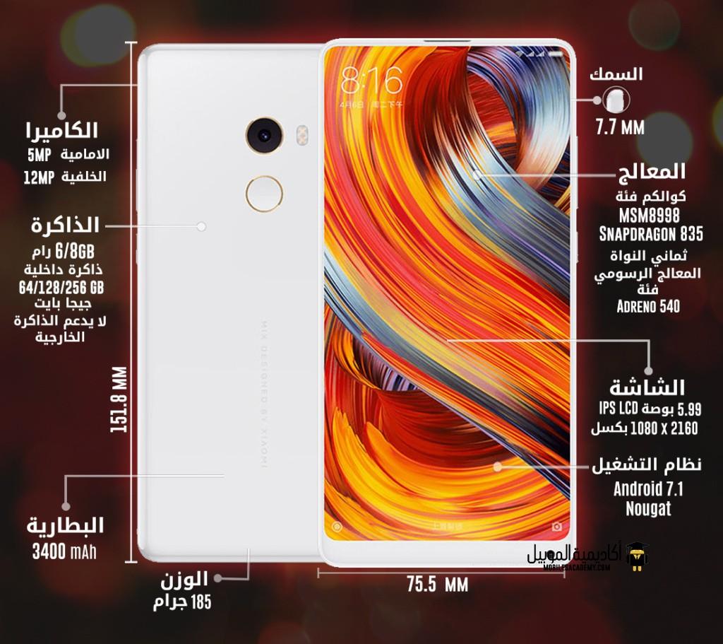 Xiaomi Mi Mix 2 specification