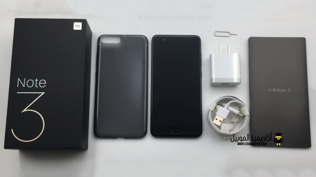 Xiaomi Mi Note 3 Unboxing