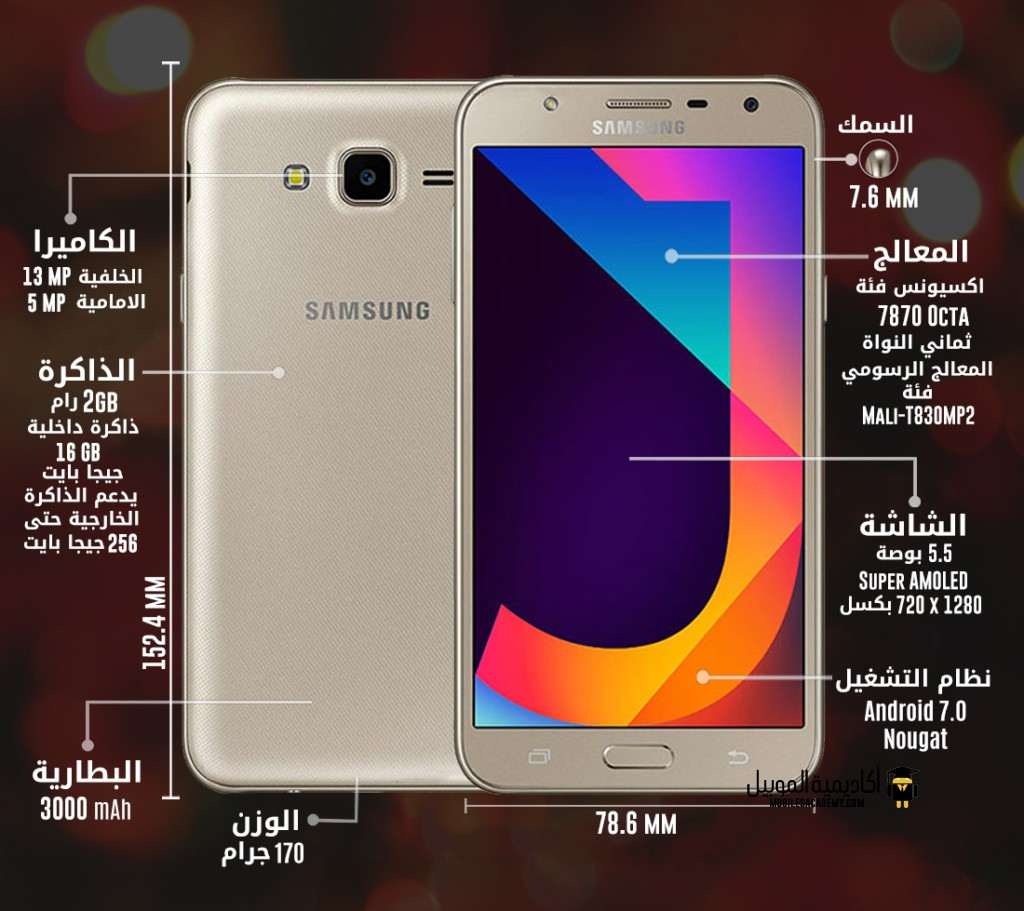 Samsung Galaxy J7 Nxt specification