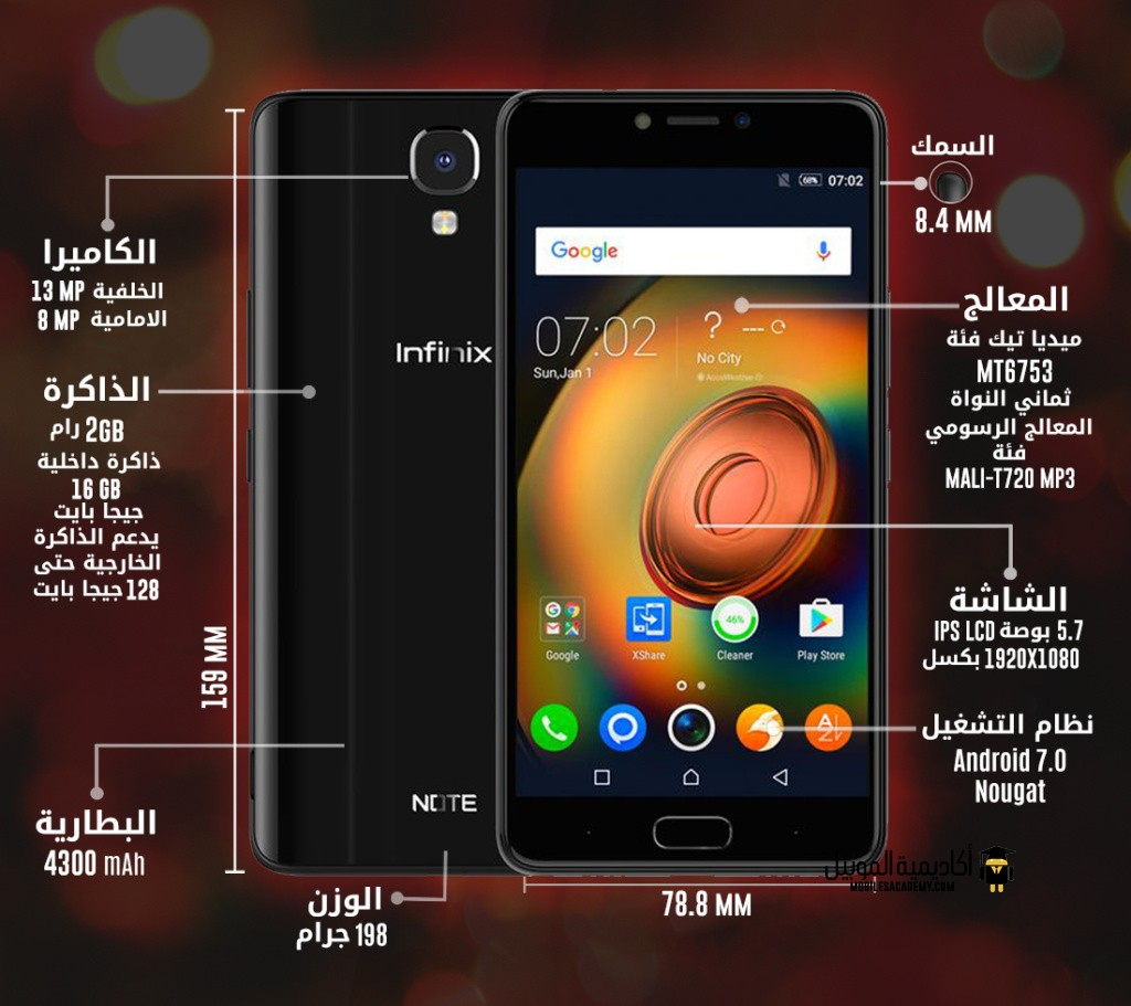 Infinix Note 4 specification