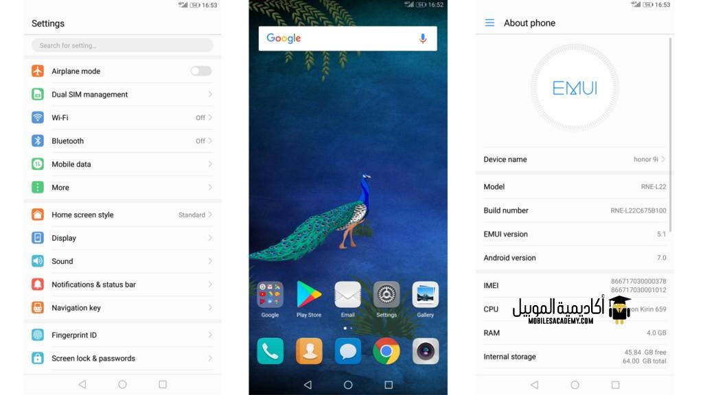 Huawei Mate 10 Lite Os