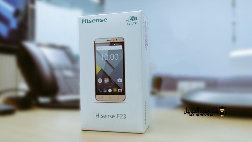Hisense F23 Unboxing