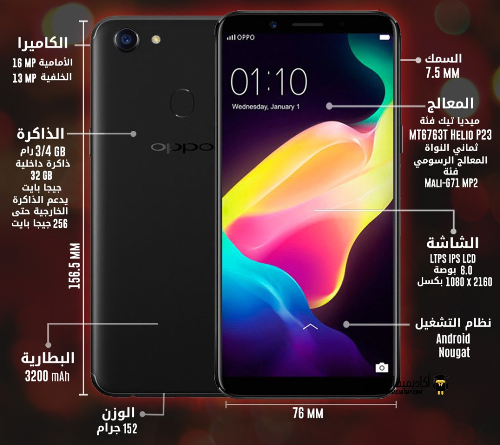 Oppo F5 Youth specification