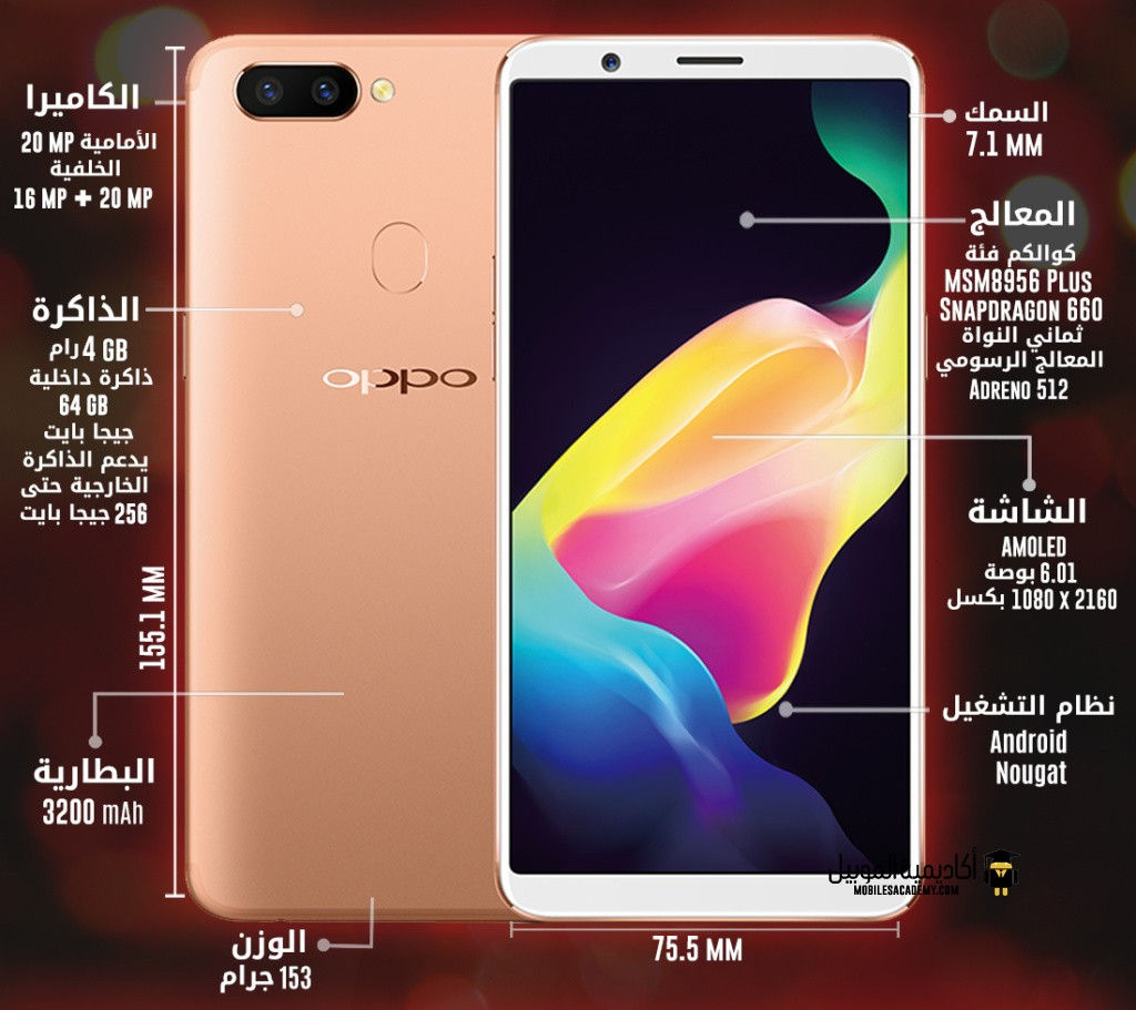 Oppo R11s specification