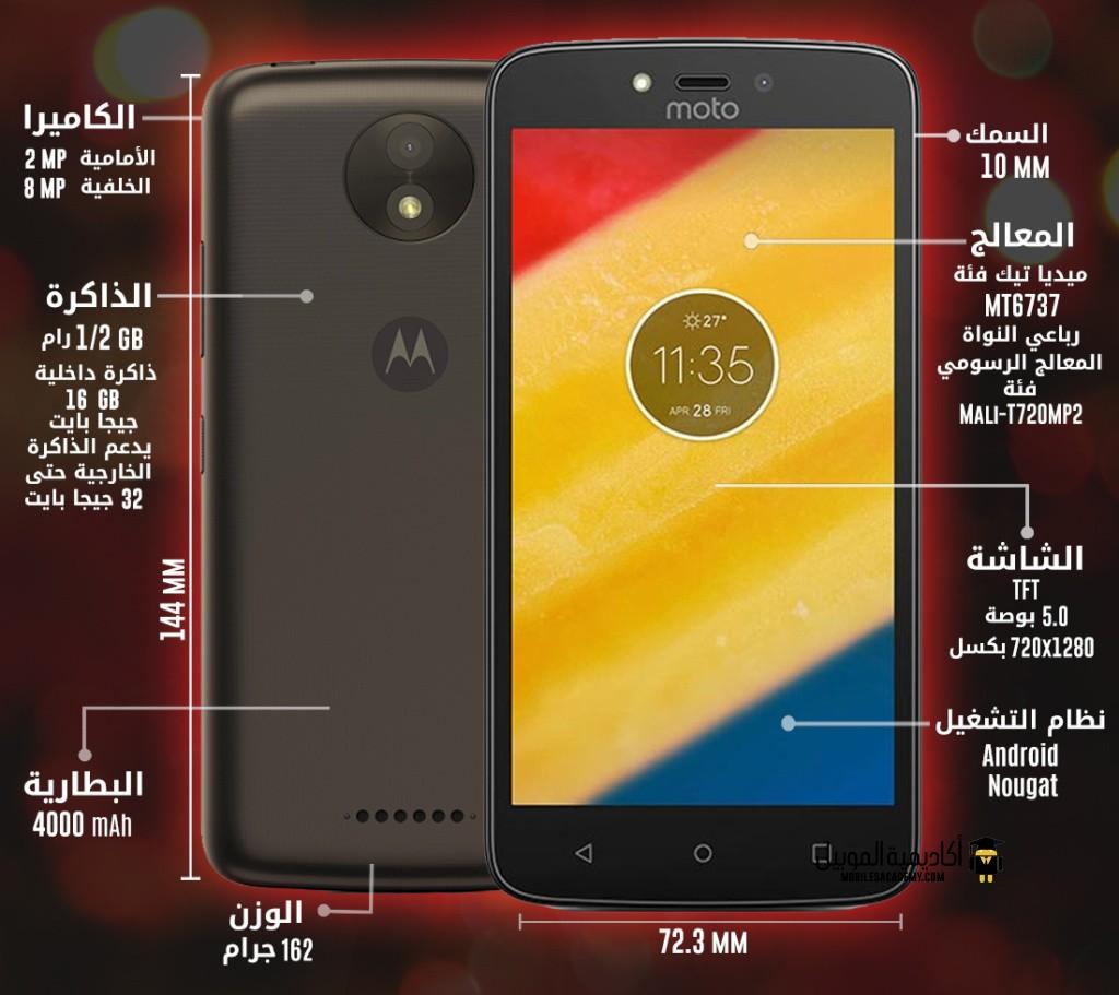 Motorola Moto C Plus specification