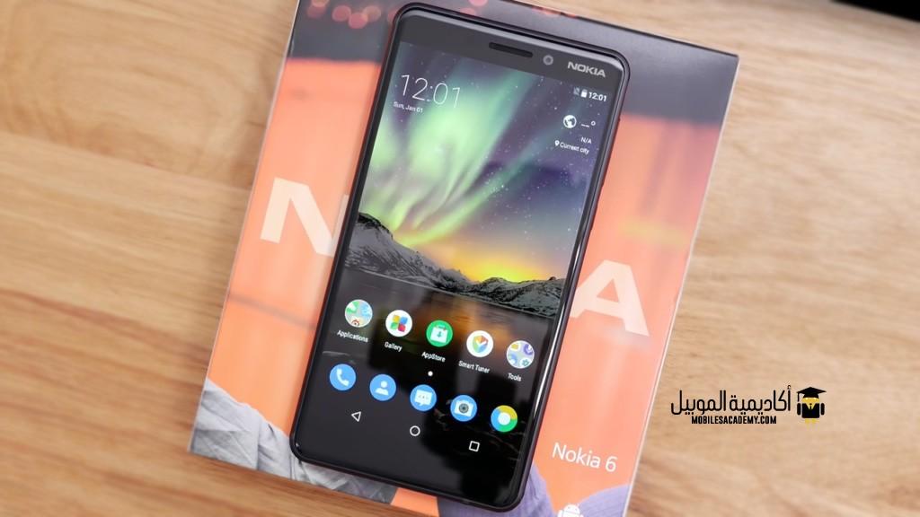 Nokia 6 (2018) Display