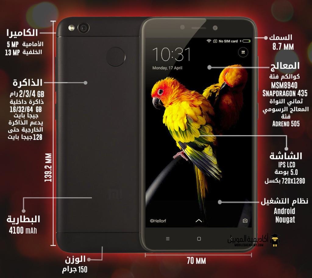 Xiaomi Redmi 4 (4x) specification