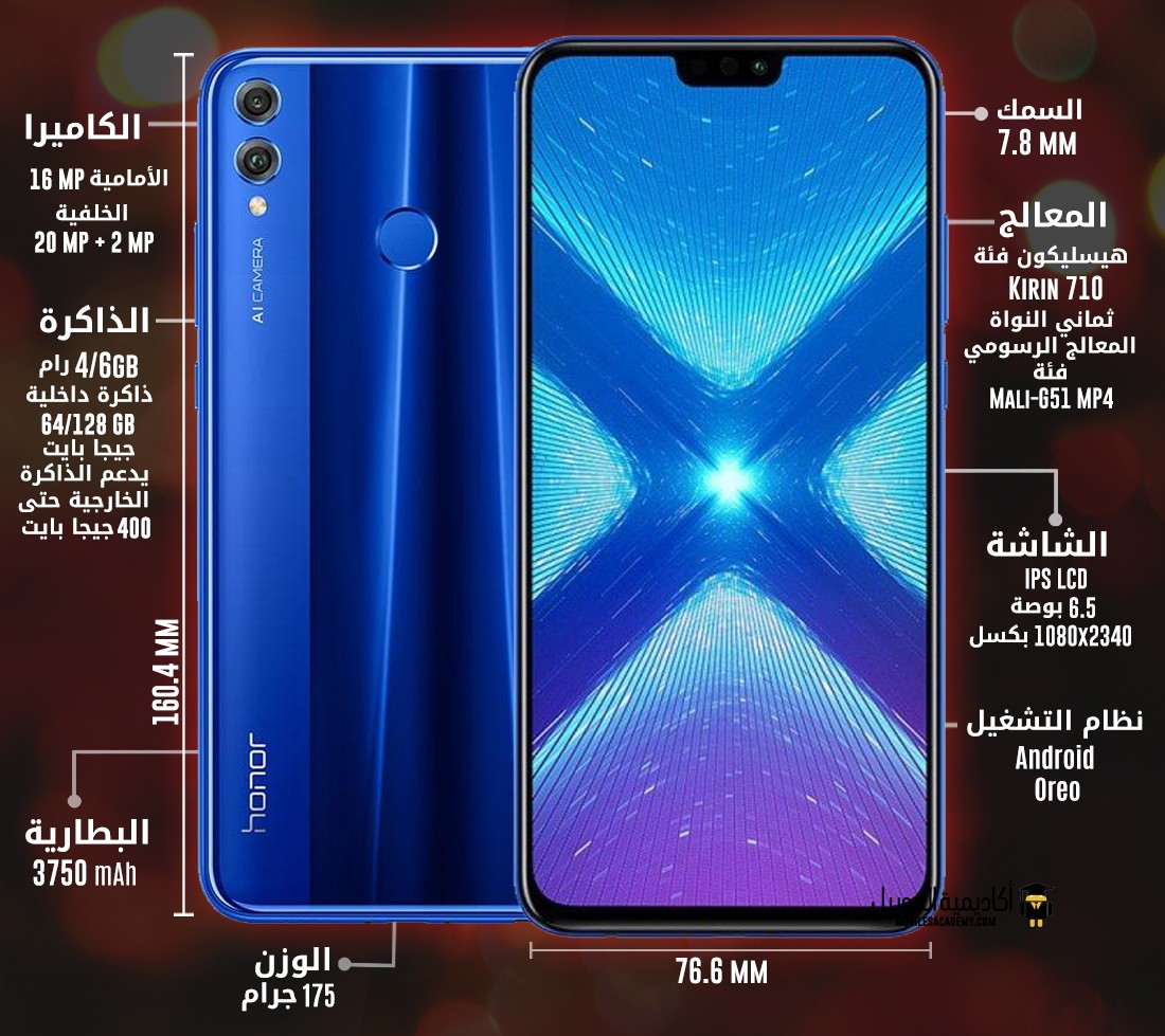 Huawei Honor 8X Specification
