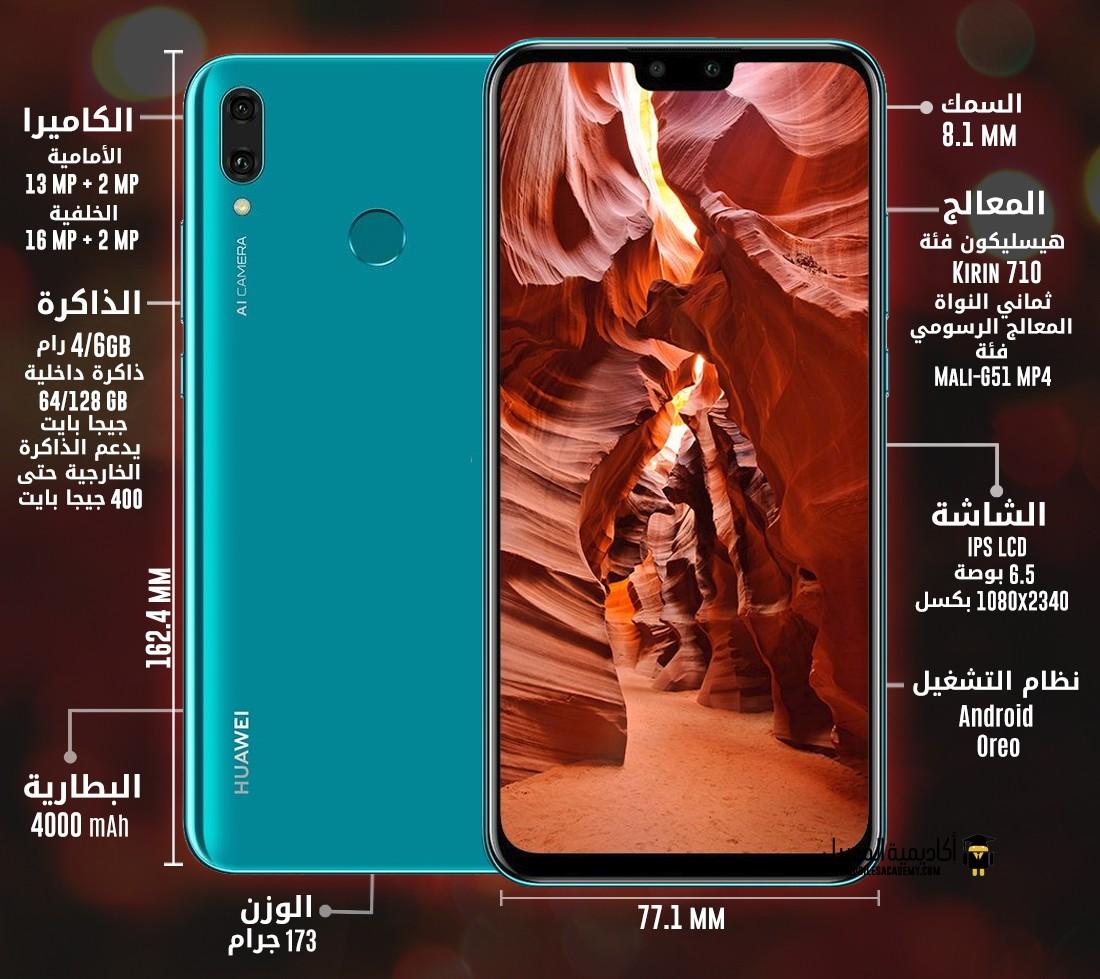 عيوب و مميزات Huawei Y9 2019 تقييم هواوي Y9 2019 أكاديمية الموبايل