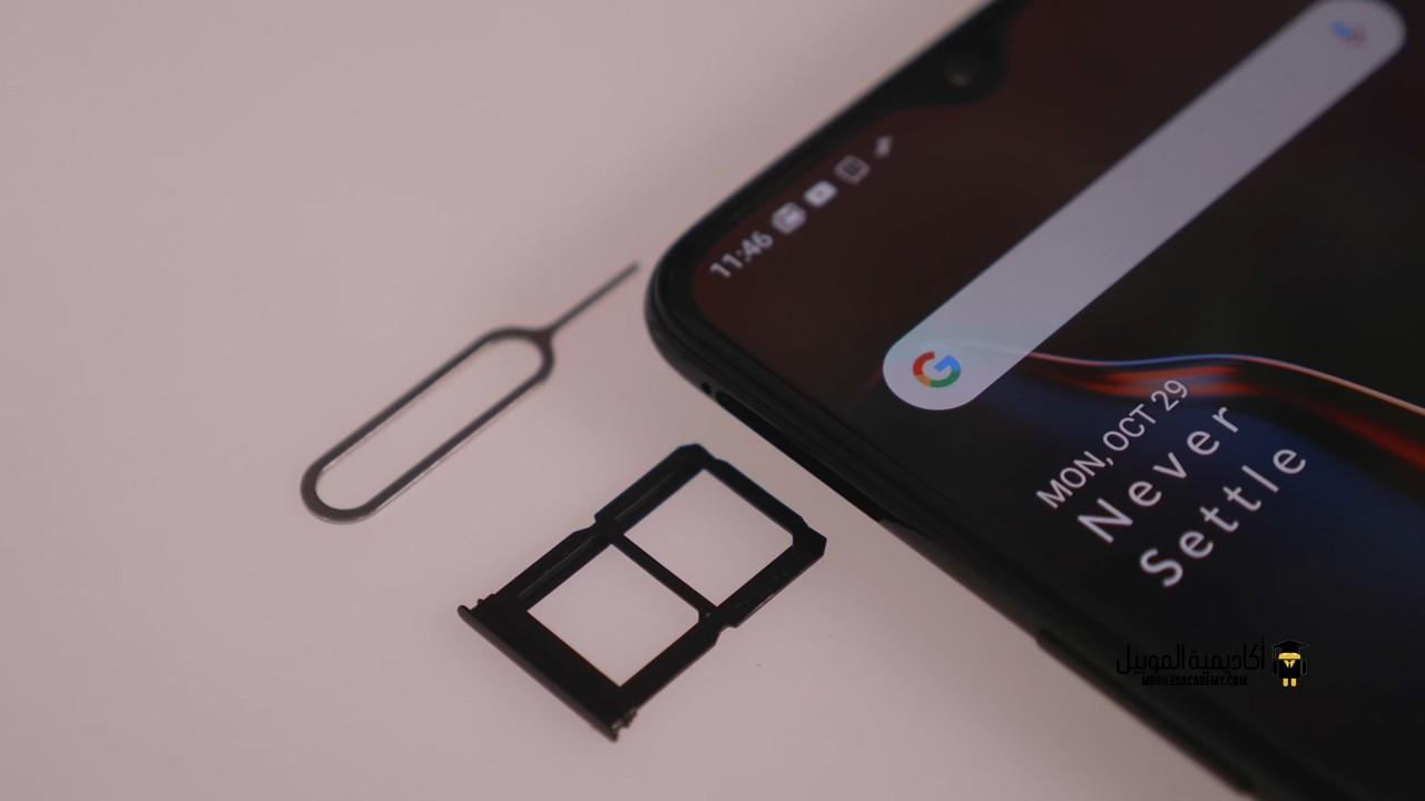 OnePlus 6T Sim